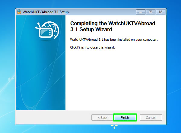 How to Watch UK TV Abroad on PC - Windows 7