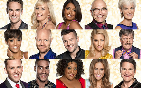 Strictly come dancing lineup 2014